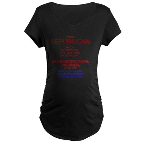 ReThuglican T-shirt Maternity Dark T-Shirt