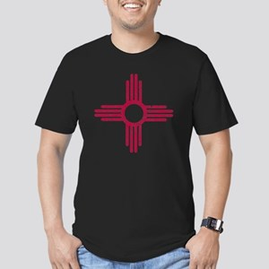 NM_red_shirt Men's Fitted T-Shirt (dark)