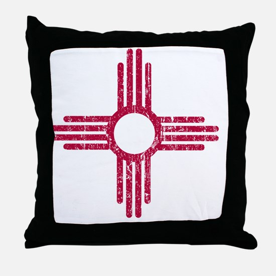 NM_red_shirt Throw Pillow