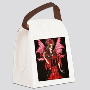 CRIMSON WINGS Canvas Lunch Bag