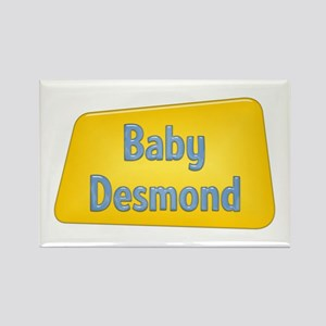 Baby Desmond Rectangle Magnet