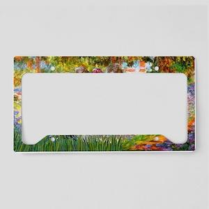 LIOC-Garden-Yorkie-T License Plate Holder