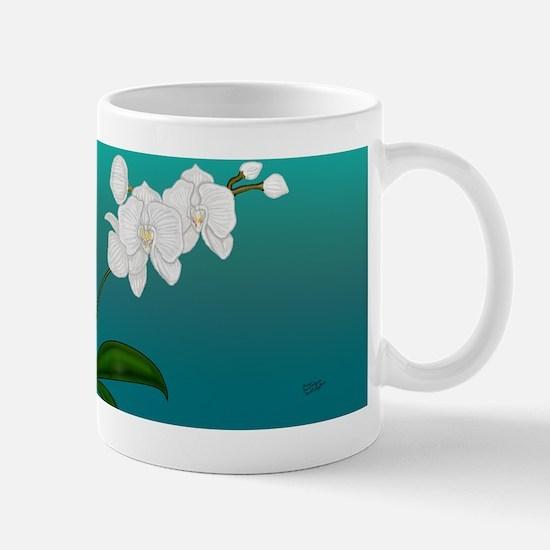 Orchid card 4 copy Mug
