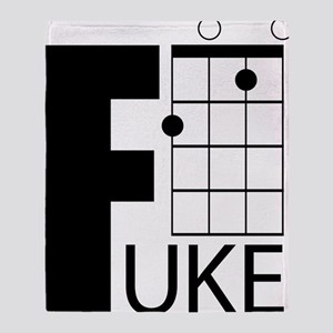 F-Uke Throw Blanket