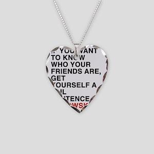 bukowski9 Necklace Heart Charm