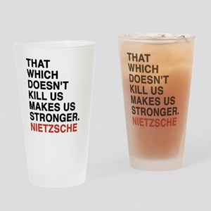 nietzsche3 Drinking Glass
