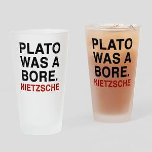 nietzsche2 Drinking Glass