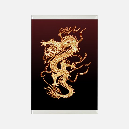 Dragon_1_443_iphone_case Rectangle Magnet