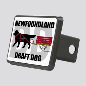 DraftDogTitle Rectangular Hitch Cover