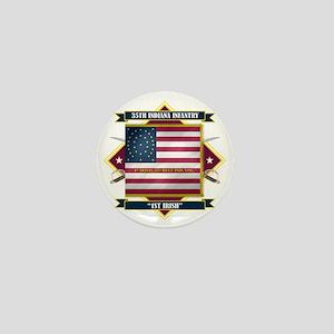 35th Indiana -1st Irish (Diamond) Mini Button
