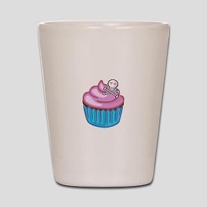 Cupcake Queen BS Shot Glass