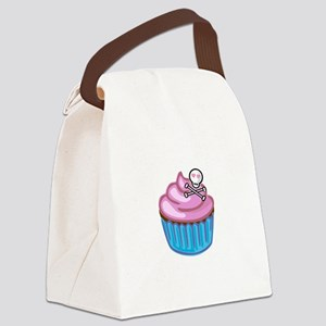 Cupcake Queen BS Canvas Lunch Bag
