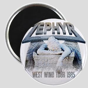 Zephyr 1985 Official Tour Shirt Magnet