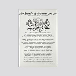 Cow Chronicles 9x12 Rectangle Magnet