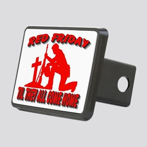 RED FRIDAY2 Rectangular Hitch Cover