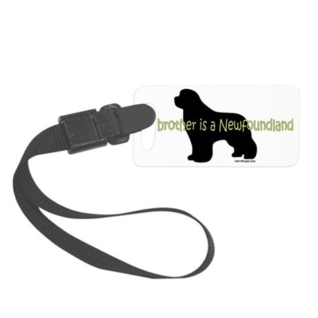 BrotherNewf Small Luggage Tag