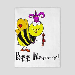 Bee Happy copy Twin Duvet