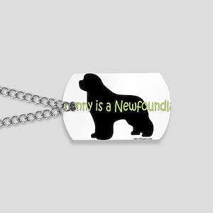 NannyNewf Dog Tags