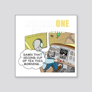 """number-one-approach Square Sticker 3"""" x 3"""""""