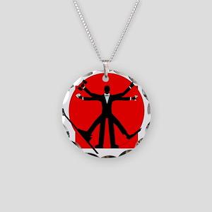 vitrian spy Necklace Circle Charm
