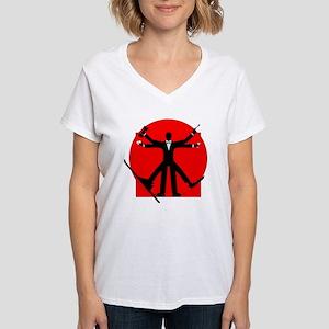 vitrian spy Women's V-Neck T-Shirt