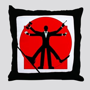 vitrian spy Throw Pillow