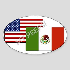 My Peeps II Sticker (Oval)