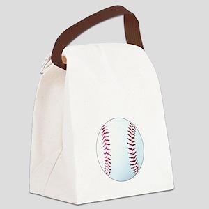 Baseball, Eat, Sleep, Breathe Bas Canvas Lunch Bag
