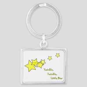 Twinkle, Twinkle Little Star Landscape Keychain