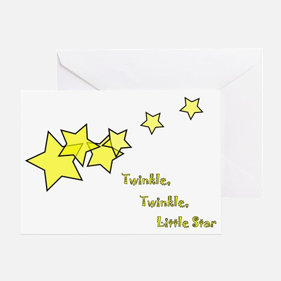 Twinkle, Twinkle Little Star Greeting Card