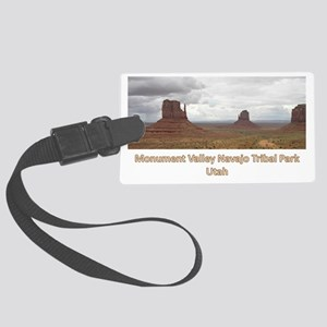 Monument_Valley Large Luggage Tag