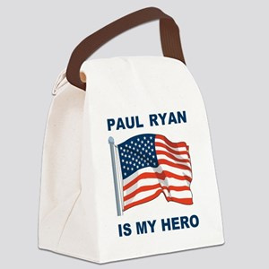 PAUL RYAN IS MY HERO Canvas Lunch Bag