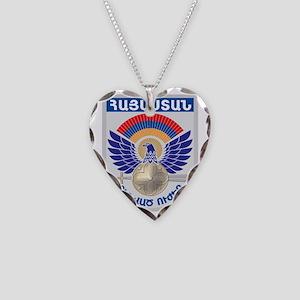 GA_ArmenianMilitary Necklace Heart Charm