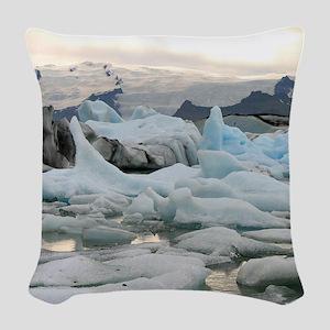 AdjustedLagoon19 Woven Throw Pillow