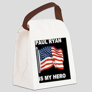 1 Palin for presidentDDSM Canvas Lunch Bag