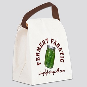 Ferment Fanatic Canvas Lunch Bag