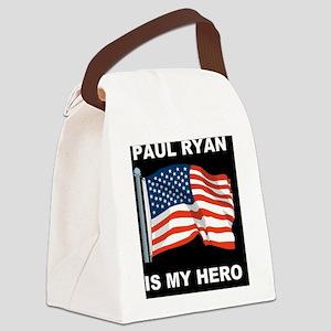 1 Palin for presidentDD Canvas Lunch Bag