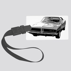 1969 Charger Large Luggage Tag
