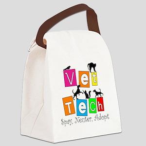 Vet Tech New 4 2011 Canvas Lunch Bag