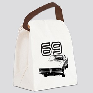1969 Charger 03 Canvas Lunch Bag