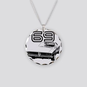 1969 Charger 03 Necklace Circle Charm