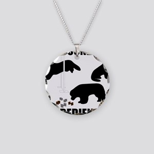 UtilityObedience Necklace Circle Charm