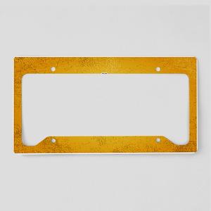 retrievin-distressedbgchoc355 License Plate Holder