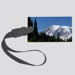 Mt. Rainier Large Luggage Tag