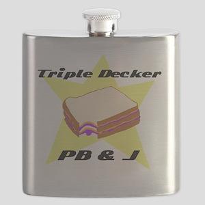 Triple Decker PBJ2 Flask