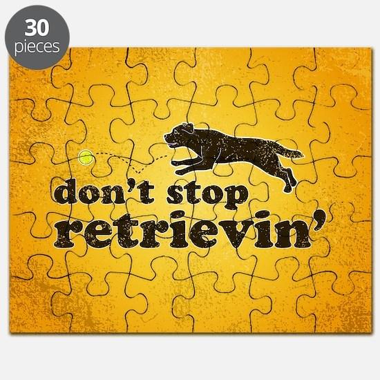 retrievin-distressedbgchocsq Puzzle