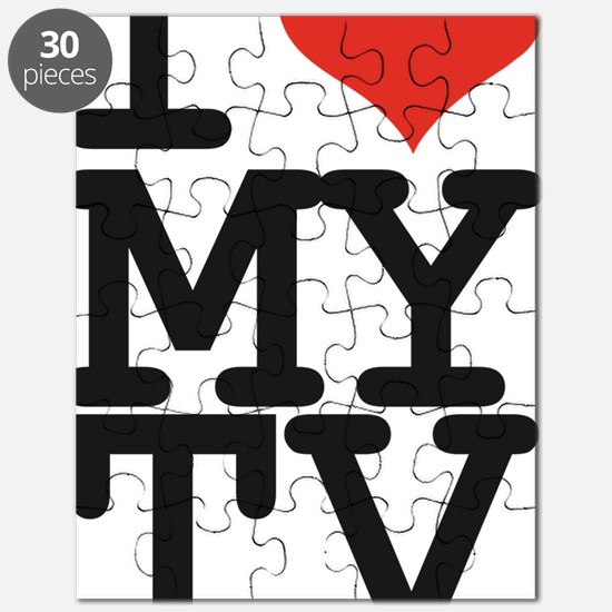 I LOVE MY TV Puzzle