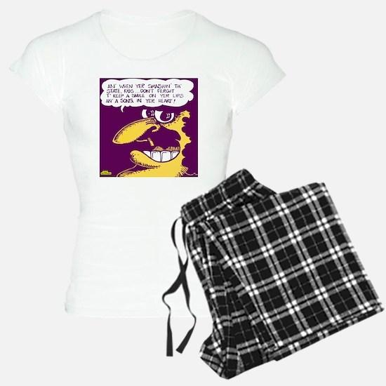 Smash the State pajamas
