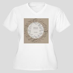 clockmedstu Women's Plus Size V-Neck T-Shirt