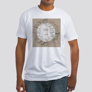 clockmedstu Fitted T-Shirt